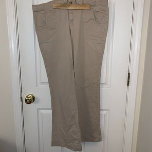 Old Navy Khaki Bootcut Slacks